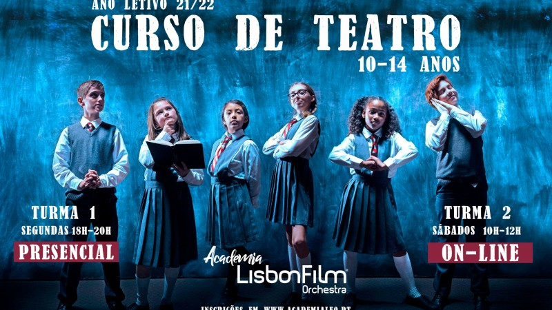 CURSO DE TEATRO - ONLINE