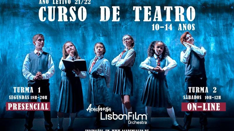 CURSO DE TEATRO - ONLINE E PRESENCIAL